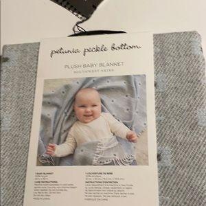 Petunia pickle bottom blanket